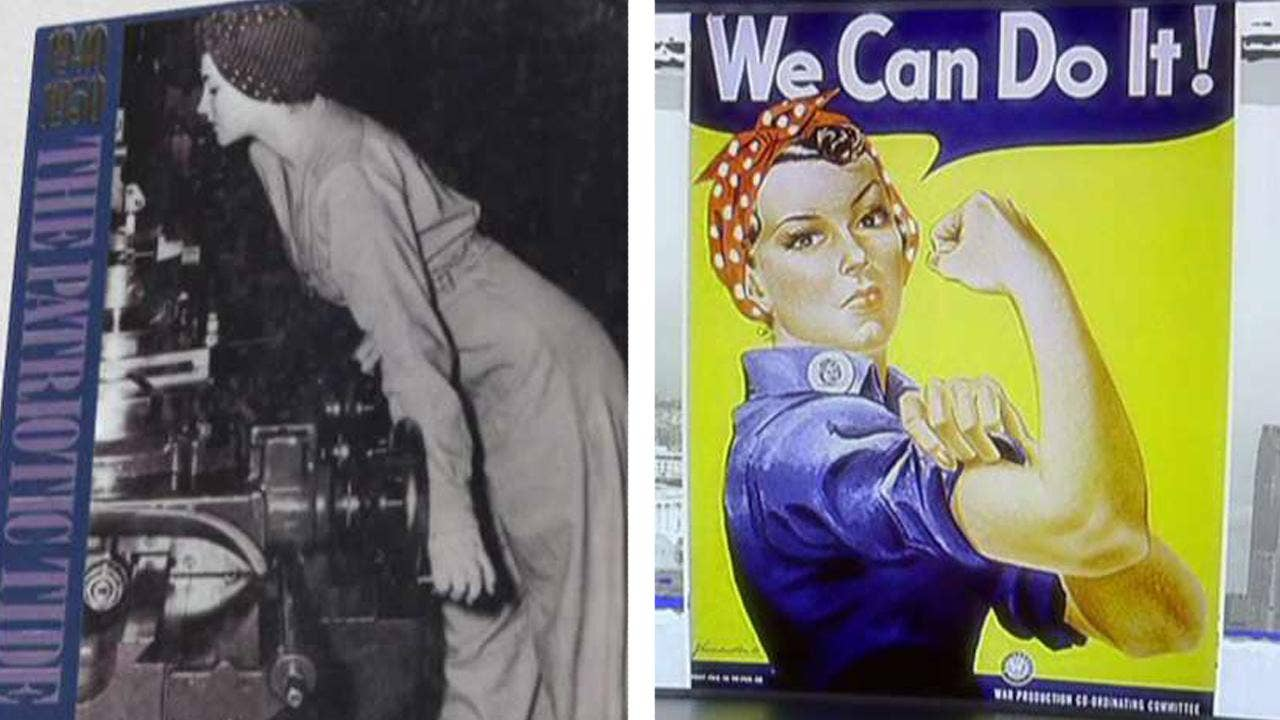 Naomi Parker Fraley The Real Rosie The Riveter Has Died At 96