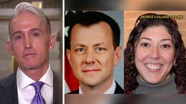 "Two top FBI officials under fire for exchanging anti-Trump text messages during the 2016 election spoke of a ""secret society"" the day after President Trump's victory, according to two lawmakers with knowledge of the messages."