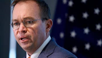 Mick Mulvaney is requesting no additional money for the second quarter; Kevin Corke has more for 'Special Report.'