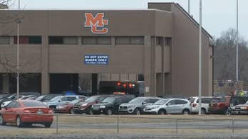 Raw video: Emergency vehicles on scene of shooting at Marshall County High School in Benton, Kentucky.
