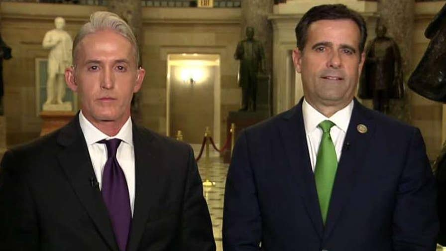 New messages between former Mueller officials suggest Loretta Lynch knew Clinton email probe outcome; congressmen speak out on 'The Story.'