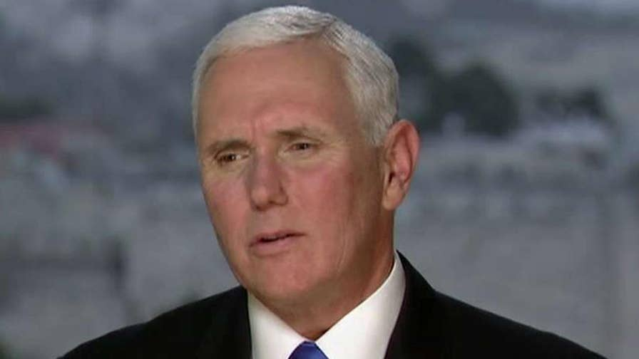 Vice President says peace in Middle East is now more possible than ever.