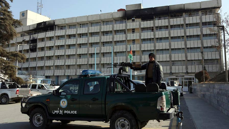 Taliban claims responsibility for weekend siege at Afghanistan's Intercontinental Hotel.