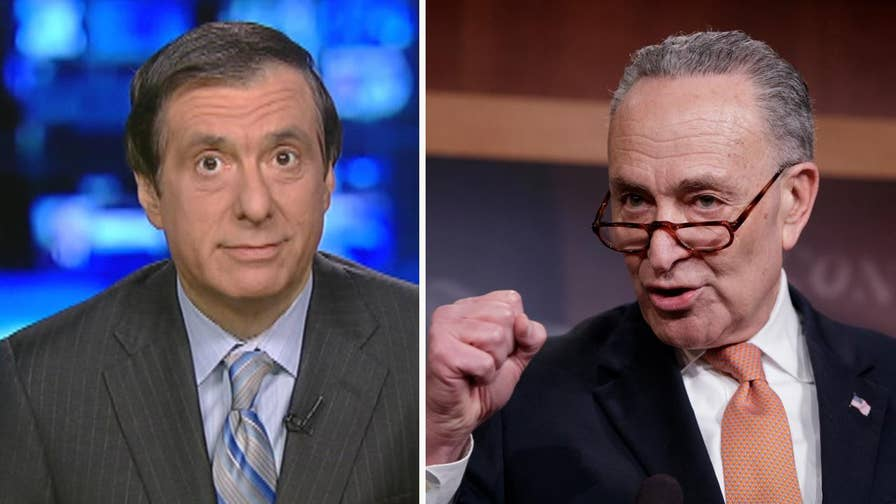'MediaBuzz' host Howard Kurtz weighs in on the rare consensus in the media that Chuck Schumer and the Democrats lost during the government shutdown.