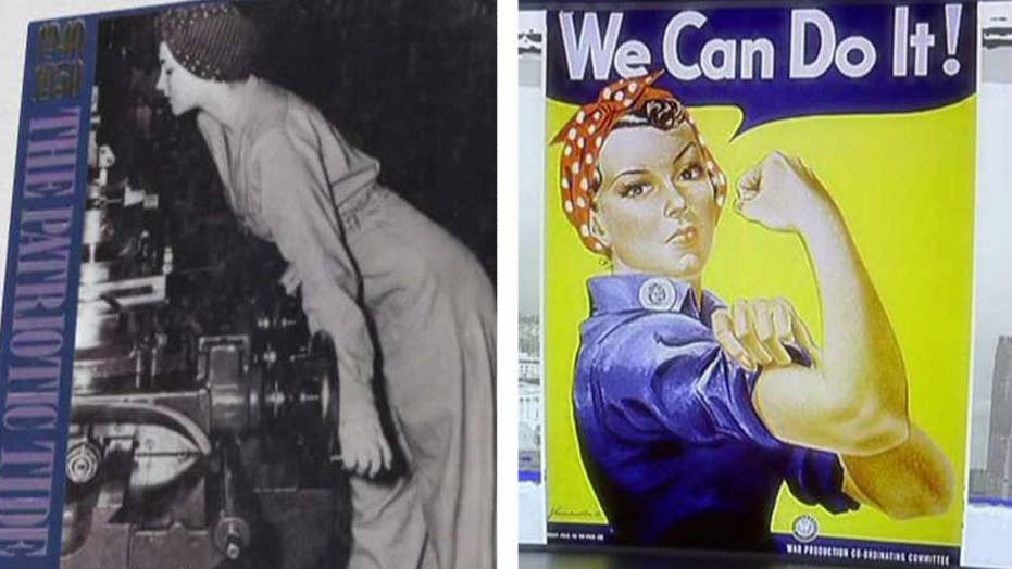 Remembering the real Rosie the Riveter, Naomi Parker Fraley