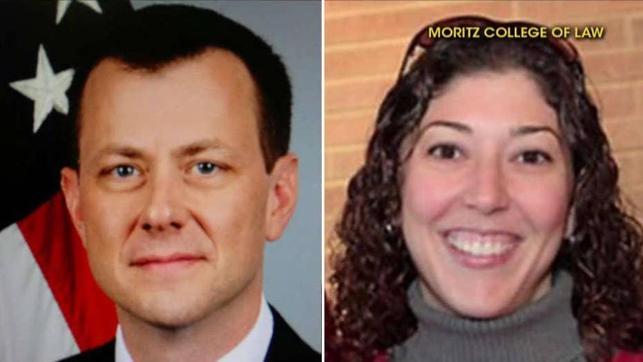 White House pounces on missing Strzok-Page texts