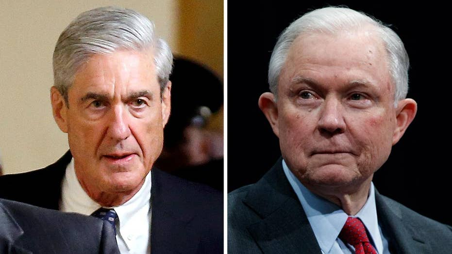 White House on Sessions being interviewed by Mueller team