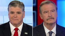 'Hannity' goes one-on-one with the former Mexican president and outspoken Trump critic.
