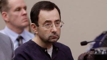 More than 150 women and girls testified against the former sports doctor who admitted molesting some of the country's top gymnasts; Matt Finn reports.