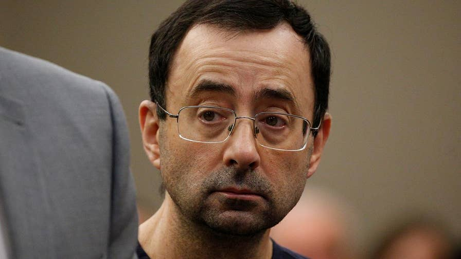 Former U.S.A. gymnastics doctor sentenced for multiple sexual assaults.