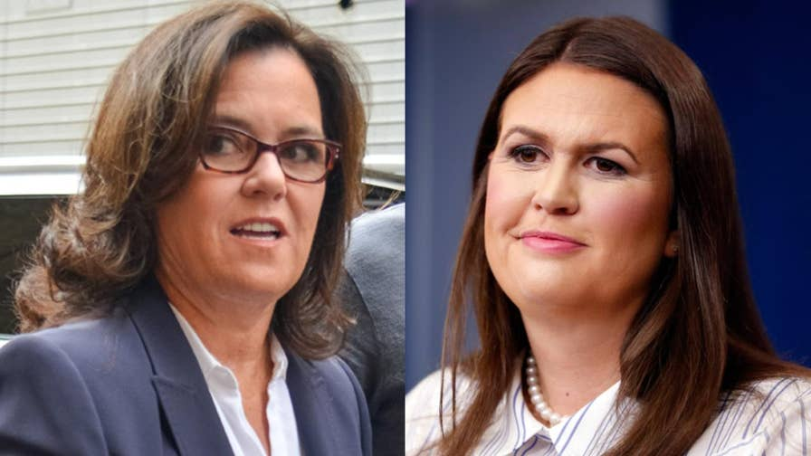 Rosie O'Donnell takes to Twitter to criticize Donald Trump's White House Press Secretary Sarah Sanders