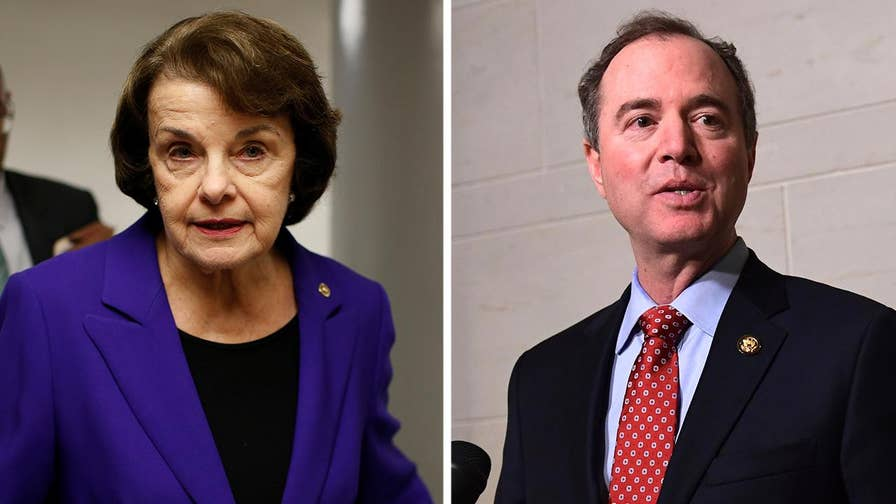 Rep. Schiff and Sen. Feinstein say the classified memo prepared by staffers working for Devin Nunes is misleading and is being pushed online as part of a smear campaign against law enforcement officials investigating Team Trump; insight from Axios reporter Alayna Treene.