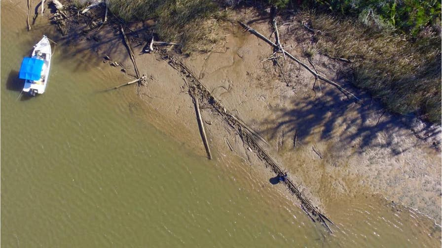 AL.com reporter Ben Raines found wreckage near Mobile, AL that could be the remains of the ship Clotilda, the last slave ship to bring slaves to the U.S.