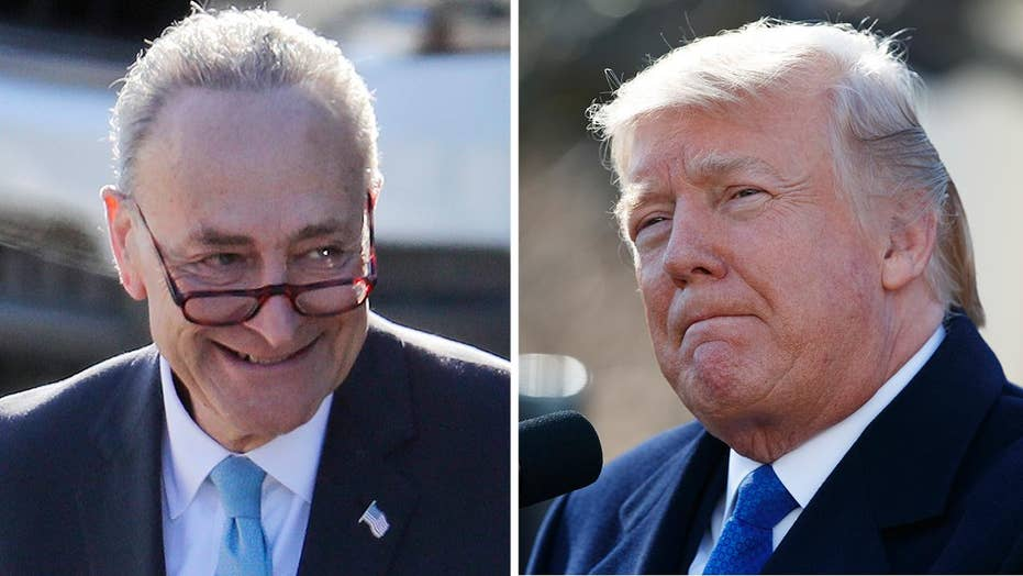 Trump slams Schumer for withdrawing immigration deal