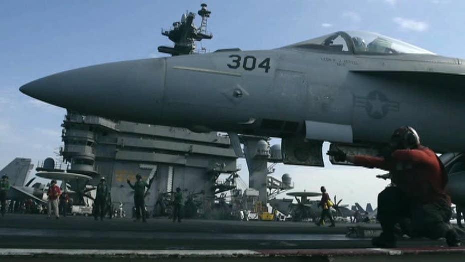 US airstrike kills 150 ISIS fighters