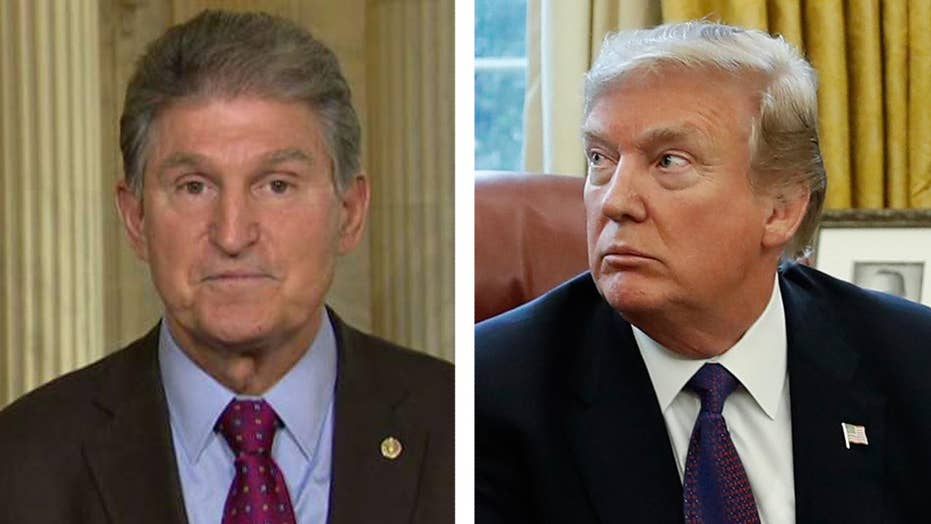 Sen. Joe Manchin: I hope Trump's tax reforms work