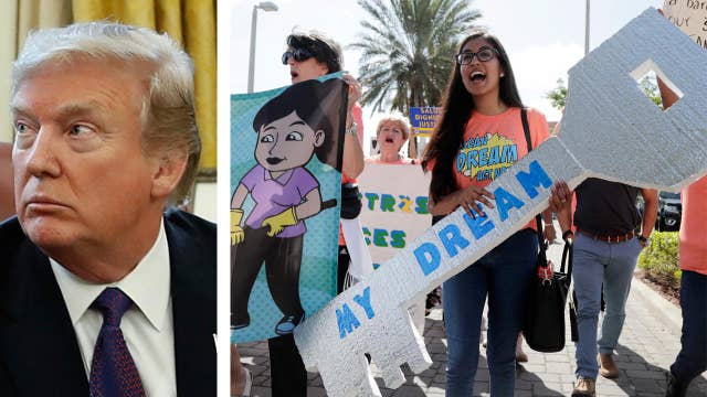 President Trump signals openness to citizenship for DREAMers