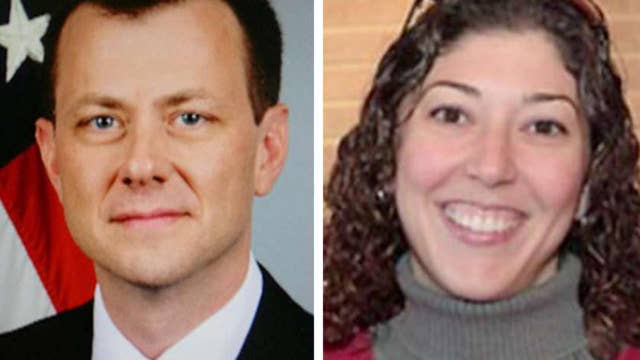 Strzok-Page text messages recovered for key dates
