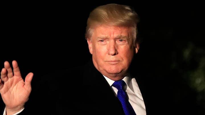 President Trump 'looking forward' to Mueller interview