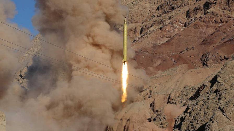 Iran launched more ballistic missiles after countries signed the 2015 nuclear deal.