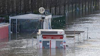 Excessive rain has caused rivers in Paris to swell. The flooding is putting many buildings and museums in danger.