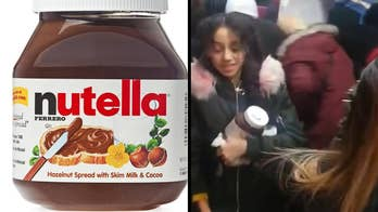 French supermarket chain Intermarche significantly discounted Nutella and shoppers broke out into brawls and riots trying to get the chocolate and hazelnut spread.
