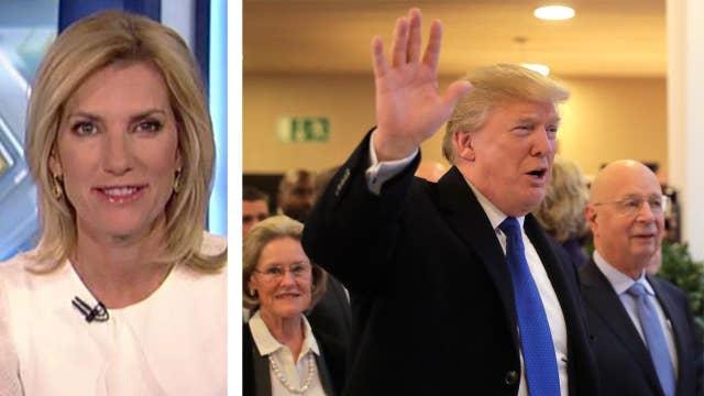 Ingraham: Trump takes on the elites in Davos