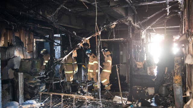 At least 37 killed in South Korea hospital fire