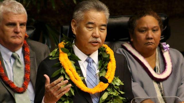 Hawaii governor says he forgot password during false alarm