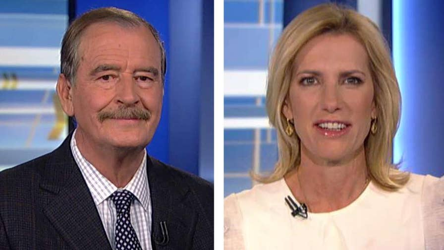 Laura Ingraham goes one-on-one with the former Mexican president on 'The Ingraham Angle.'
