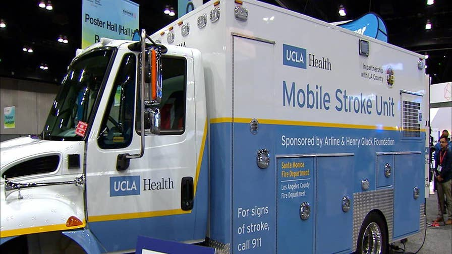 UCLA and the Los Angeles County Fire Department are using a Mobile Stroke Unit to treat stroke victims in the field, saving them brain cells and possibly their life