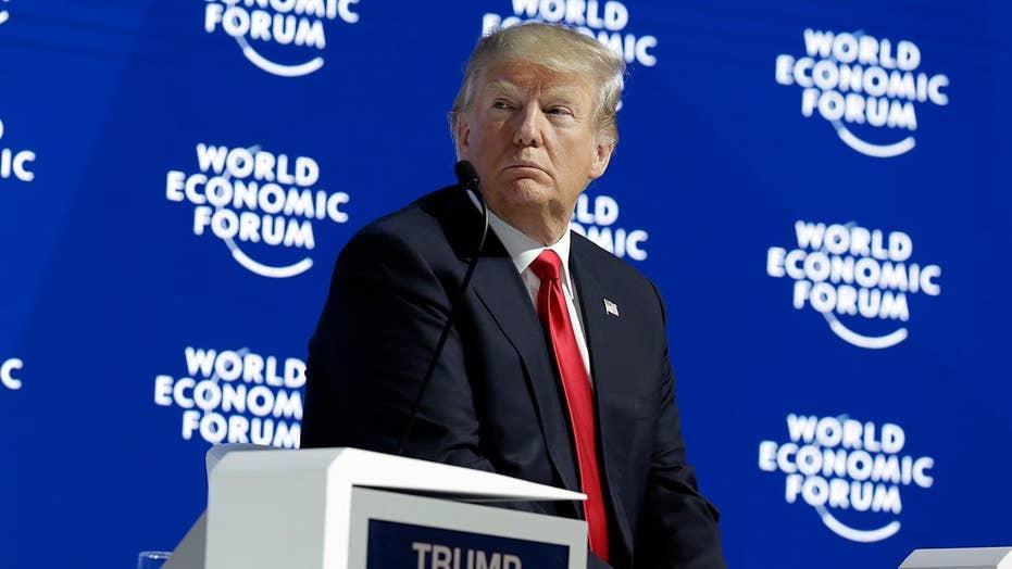 Trump slams 'vicious' and 'fake' press in Davos