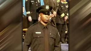 Officer Glenn Doss Jr. was shot in the head and chest when responding to a domestic violence call.
