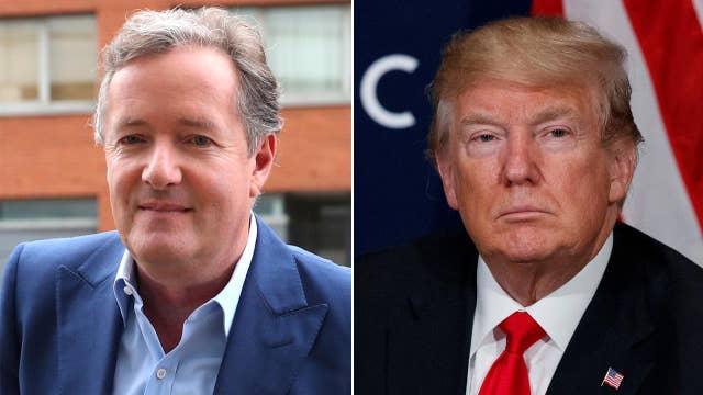 After the Buzz: Piers Morgan vs. Donald Trump