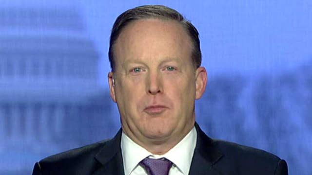 Sean Spicer on Hollywood attacking the right, Trump's SOTU