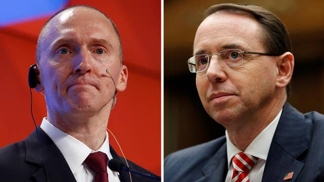 Memo claims Rosenstein approved Page surveillance extension
