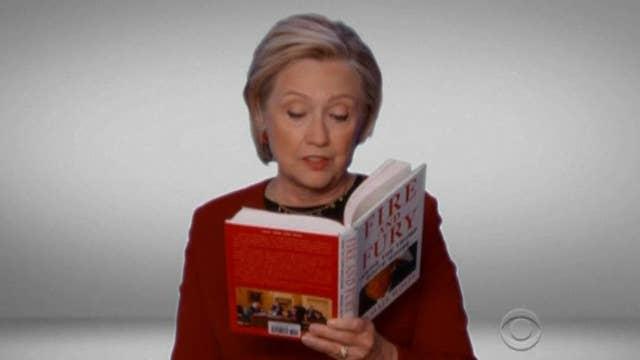 Hillary Clinton Grammy cameo slammed by Haley, Trump Jr.