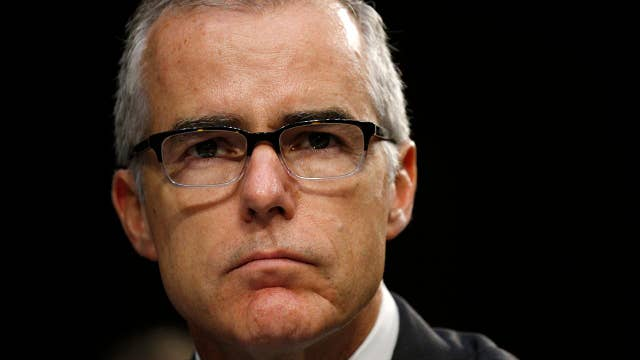FBI Deputy Director Andrew McCabe stepping down