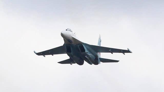Pentagon: Russian jet buzzed Navy plane over Black Sea