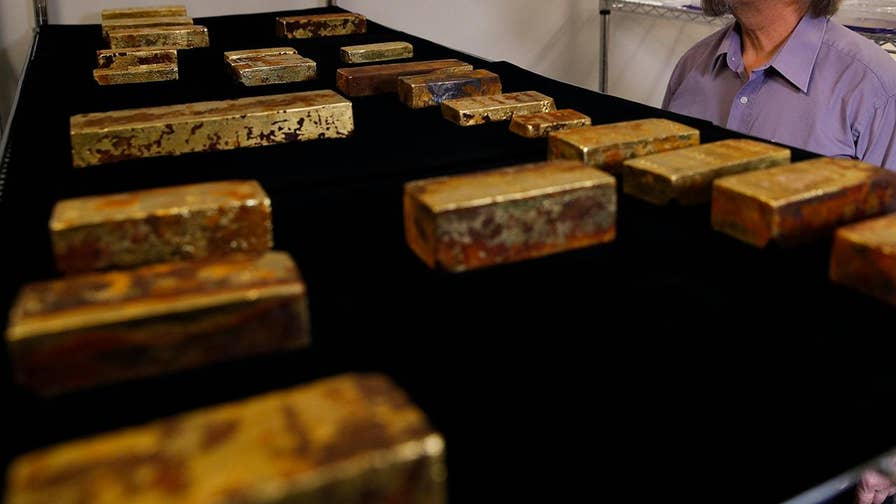 More than $50 million worth of gold bars and coins recovered from the wreckage of the S.S. Central America steamship set to go on display at the Long Beach Convention Center in California.