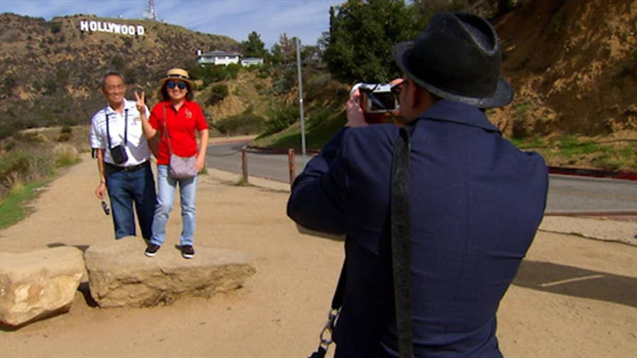 Building another Hollywood sign is one of a number of options to help alleviate tourist traffic for disgruntled residents