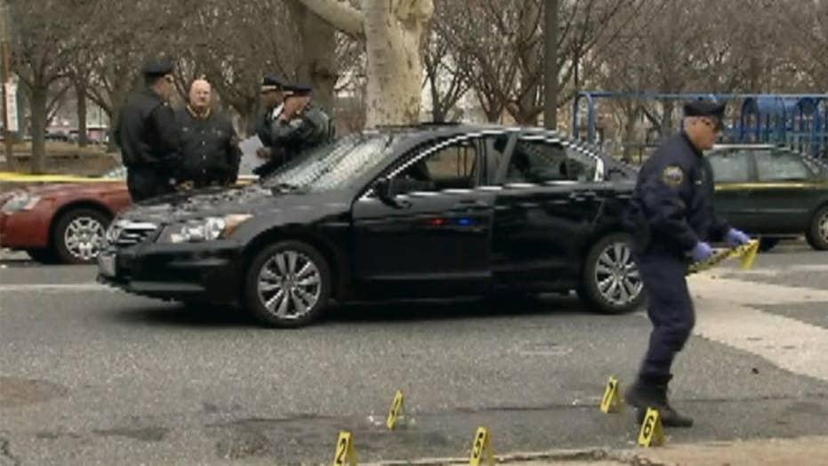 Cop shoots driver allegedly attempting to ram pedestrians