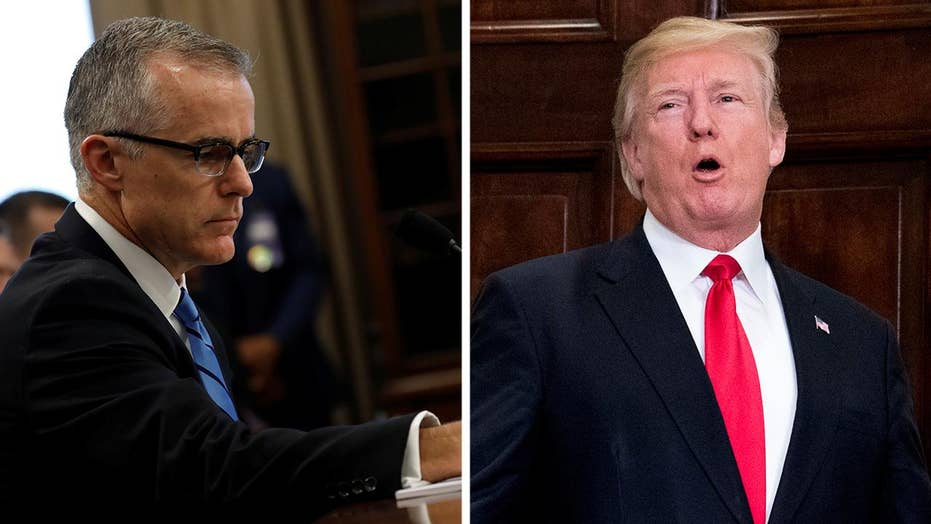 McCabe news a distraction from Trump's State of the Union?
