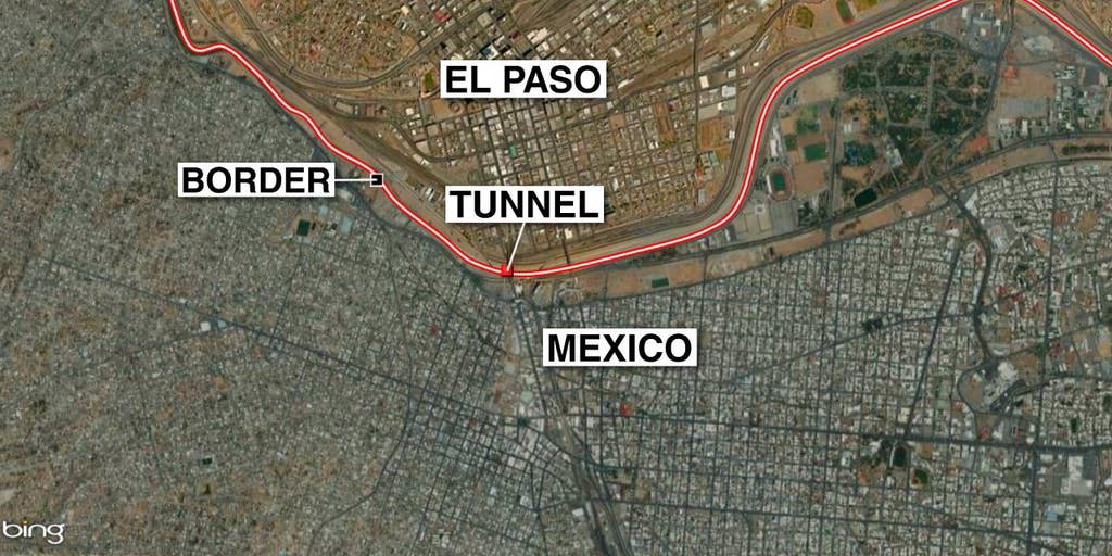 Border Patrol agents find tunnel in El Paso that connects ... on highway map of kentucky, highway map of rhode island, highway map of seattle area, highway map of connecticut, highway map of west texas, highway map of idaho, highway map of kauai, highway map of michigan, highway map of florida, highway map of wichita, highway map of tennessee, highway map of northern california, highway map of northwest arkansas, highway map of southern united states, highway map of texas panhandle, highway map of northwest indiana, highway map of pennsylvania,