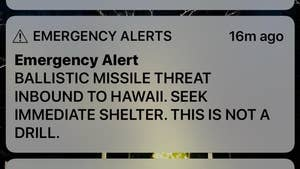 In a statement to investigators, the staffer wrote that he was convinced that an actual attack was under way when he sent alert about a ballistic missile headed toward Hawaii.