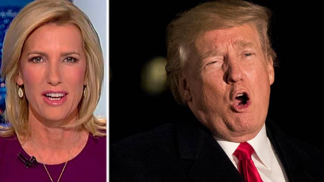Ingraham: Willful blindness to Trump's triumphs