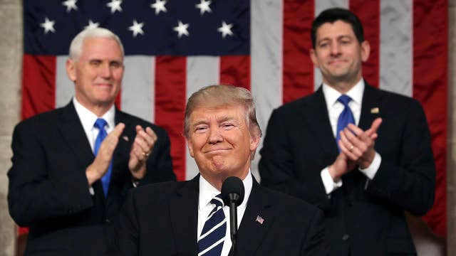 Trump set to deliver first State of the Union address