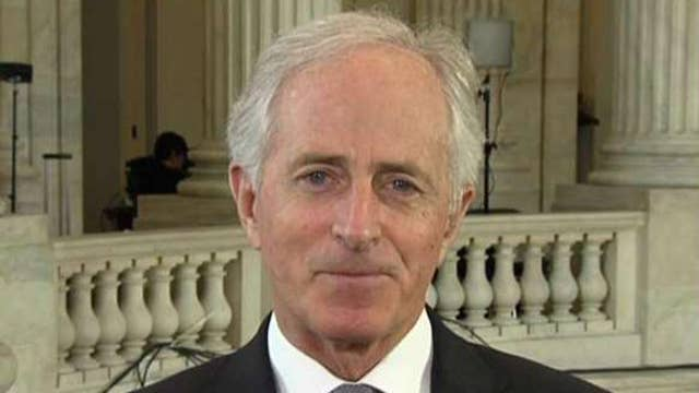 Sen. Corker lifts the curtain back on immigration talks