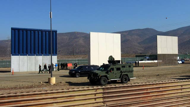Border wall prototypes 'virtually impassable' during testing