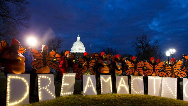 DREAMers, Democrats dig in on immigration, push for answers